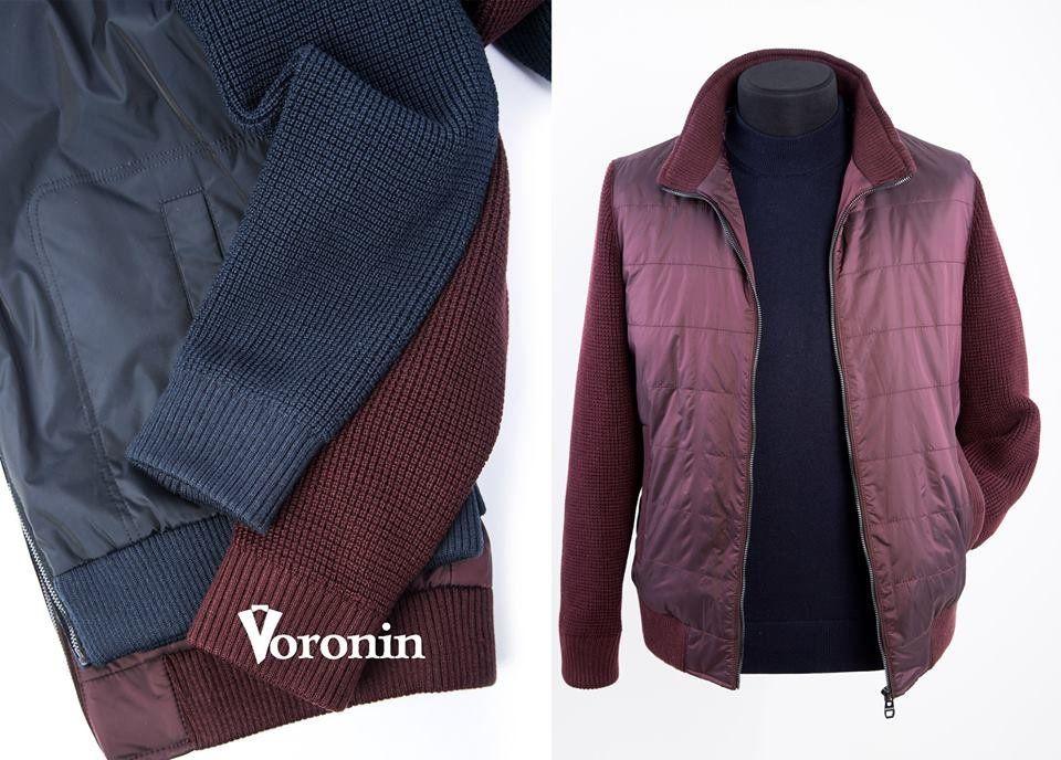 104f284d7aee73 Куртка Voronin з рукавами і спинкою з об'ємної в'язки. - Voronin — офіційний  Інтернет-магазин
