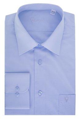 66ac012a8b60 Рубашка мужская классическая VK - 145 (голубой), 38, (176-182