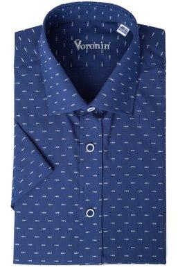 67f337631c8b490 Рубашка мужская классическая VK — 300К/S (синий), 39, (176